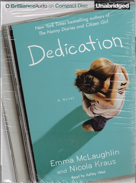 Image for Dedication [Audiobook] [CD] [Unabridged] [Audio CD]; West, Ashley