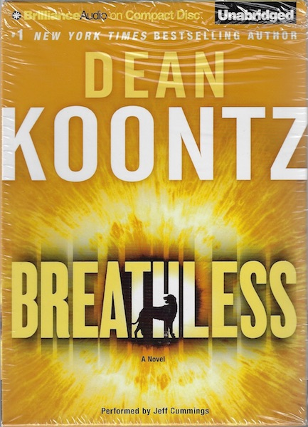 Image for Breathless [Audiobook] [CD] [Unabridged] [Audio CD] by Koontz, Dean