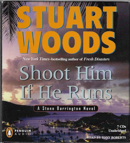Image for Shoot Him If He Runs (Stone Barrington Novels) [Audiobook] [Unabridged]