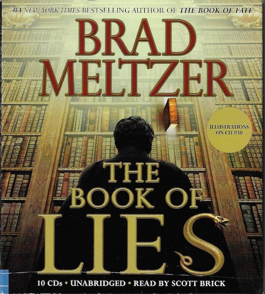Image for The Book of Lies [Audiobook] [Unabridged] [Audio CD] by Meltzer, Brad