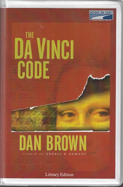 Image for The Da Vinci Code [Audio Cassette] by Dan Brown