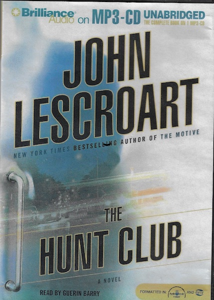 Image for The Hunt Club (Wyatt Hunt) [MP3 Audio] [MP3 CD] by Lescroart, John
