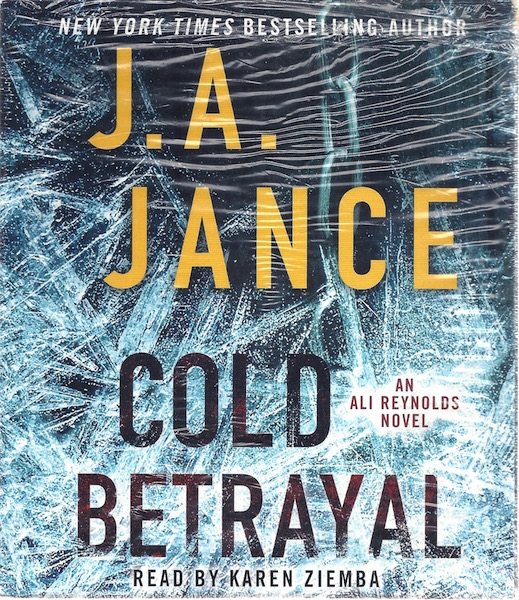 Image for Cold Betrayal: A Novel (Ali Reynolds)