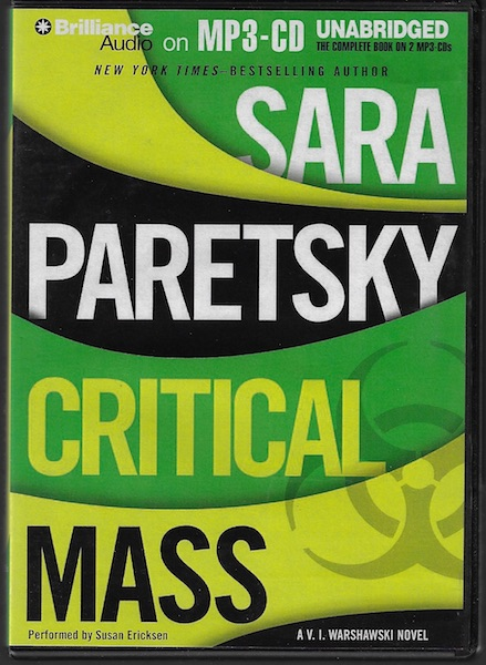 Image for Critical Mass (V. I. Warshawski Series)