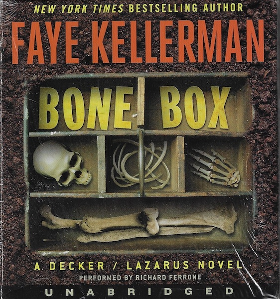 Image for Bone Box CD: A Decker/Lazarus Novel (Decker/Lazarus Novels)