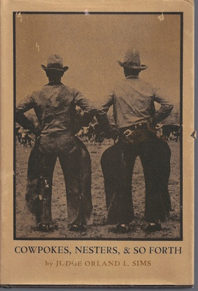 Image for Cowpokes, Nesters & So Forth