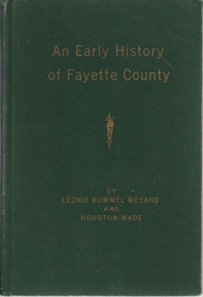 Image for An Early History of Fayette County