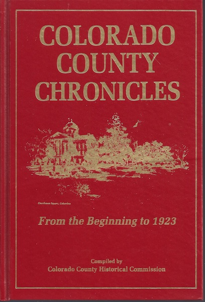 Image for COLORADO COUNTY CHRONICLES - Two Volume Set