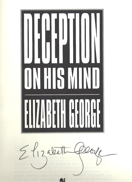 Image for Deception on His Mind [Hardcover] by George, Elizabeth