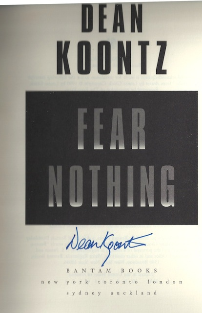 Image for Fear Nothing