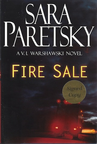 Image for Fire Sale (V.I. Warshawski Novels) [Hardcover] by Paretsky, Sara