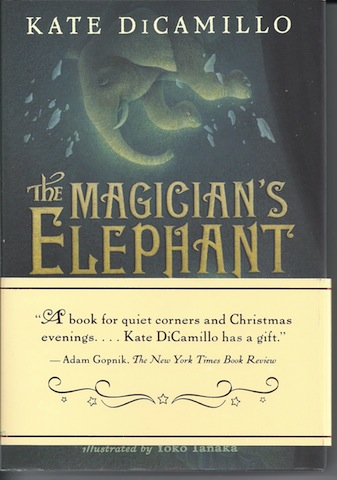 Image for The Magician's Elephant SIGNED